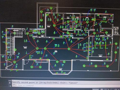 projetos elétrico residencial