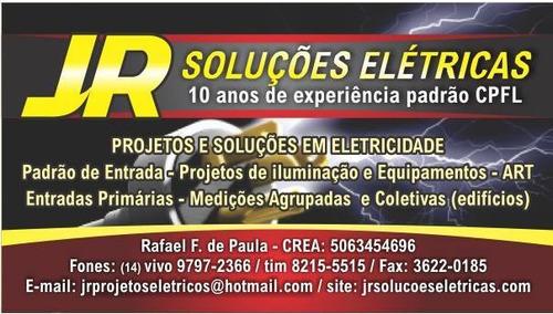 projetos eletricos