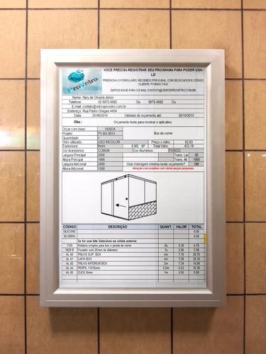 projetos em vidro temperado provetro - vidraçarias