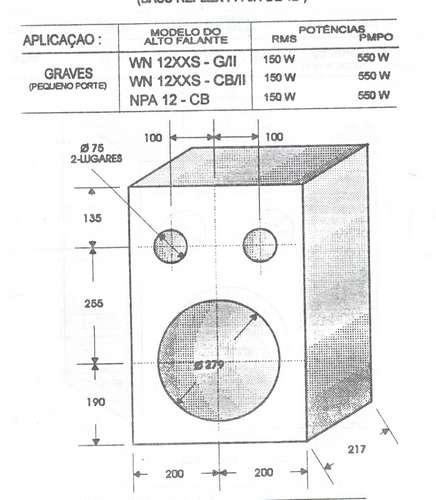 projetos originais de caixas acústicas +300 projetos