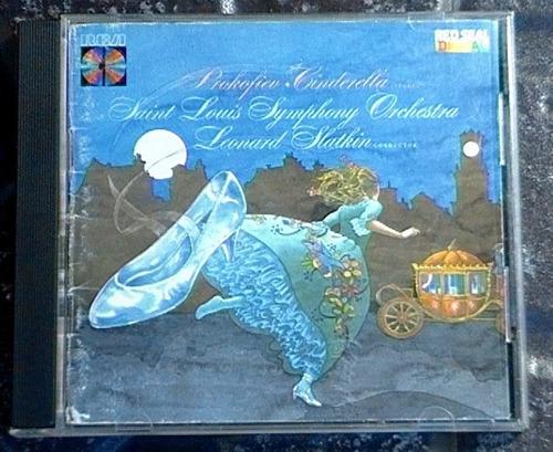 prokofiev: cinderella (suite) - leonard slatkin