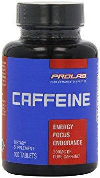 prolab cafeína potencia máxima de 200 mg comprimidos, 100-