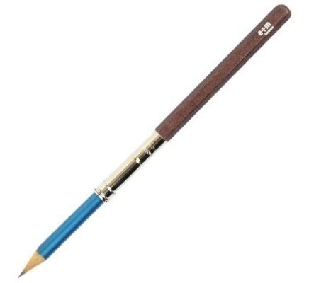 prolongador/ extensor de lápis e+m mahogany