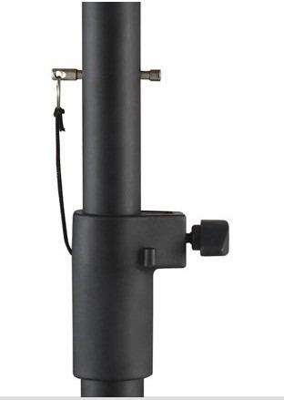 prolongador suporte p/ caixa som subgrave c/2 + 6 copo metal