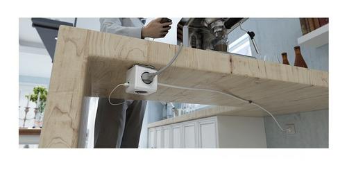 prolongador zapatilla con usb power cube de 3 metros mm
