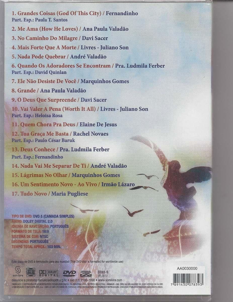 dvd gospel promessas 2012