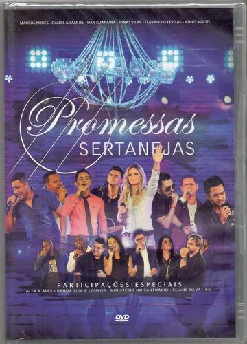 promessas sertanejas - dvd gospel - original