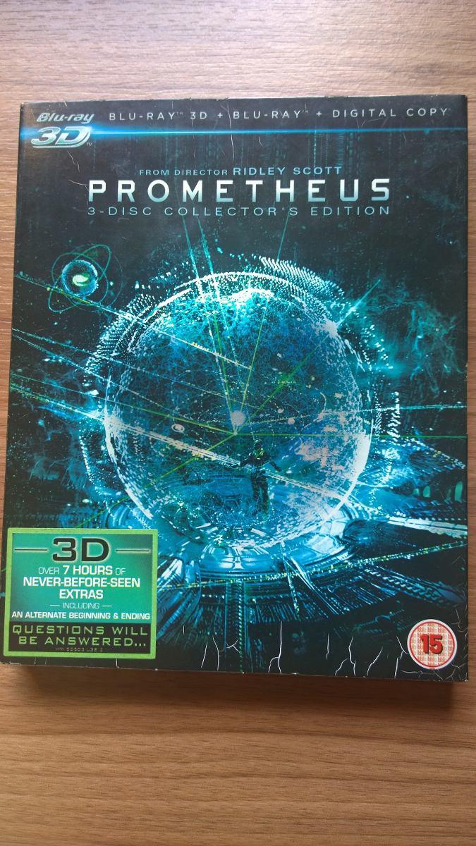 Prometheus 3 Disc Collector Edition 3d - Blu Ray Importado