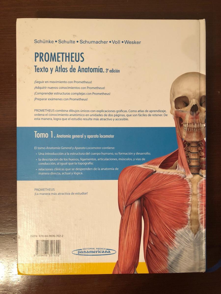Prometheus Anatomía 3 Edición Nuevo - $ 1.800,00 en Mercado Libre