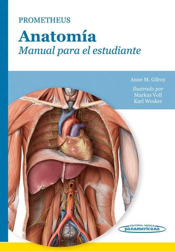 prometheus. anatomía manual para el estudiante