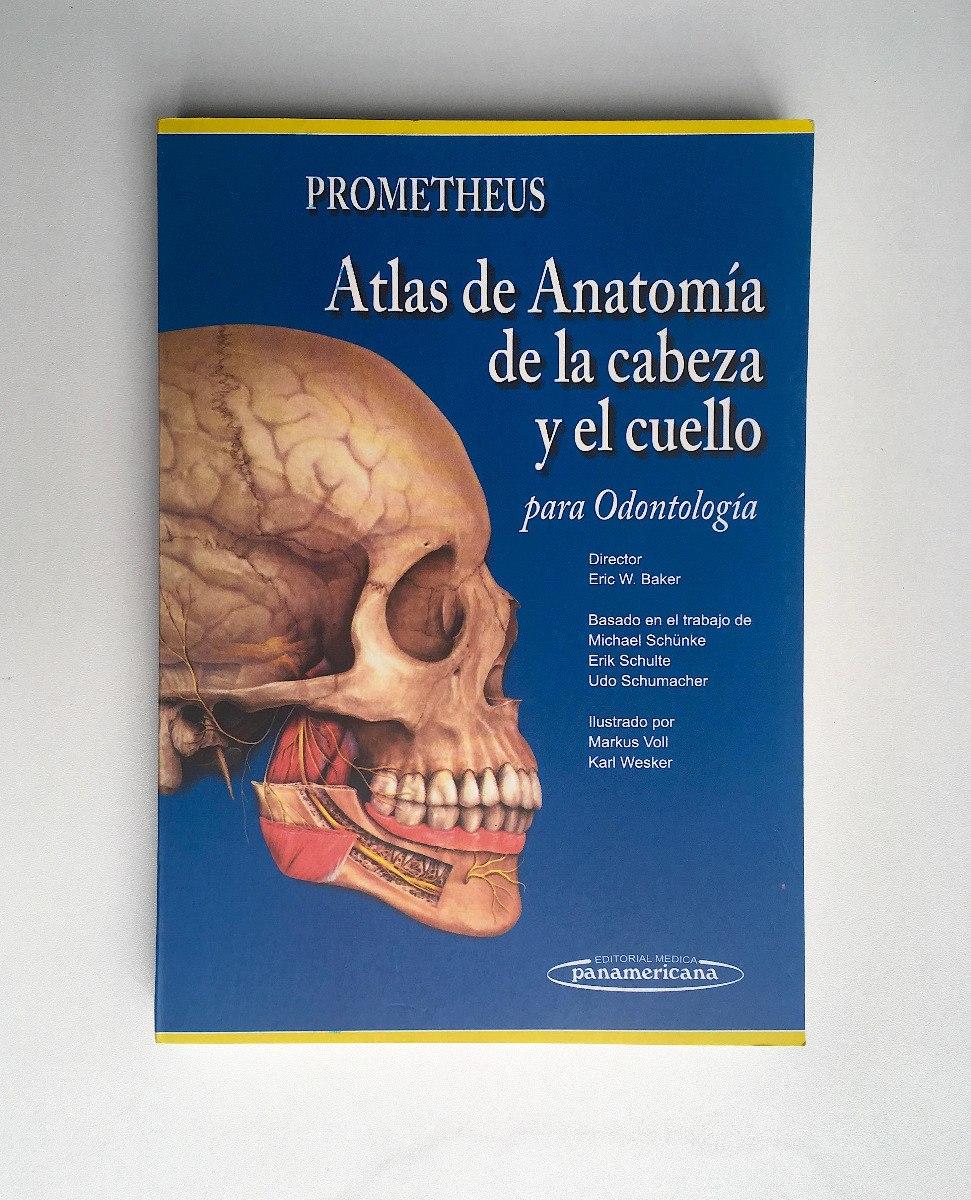 Prometheus -atlas De Anatomía Cabeza Y Cuello - Envío Gratis ...