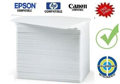 promo 100 carnet pvc epson t50 l800 canon gratis enviooooooo