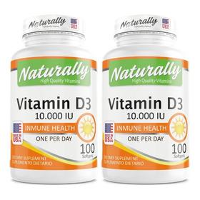 Promo 2 Vitamina D3 10.000 Iu X 100 - Unidad a $376