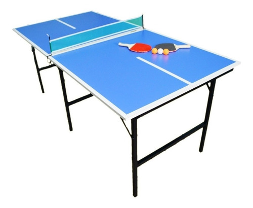 promo-25% mesa ping pong plegable familiar+set cuotas s/ int