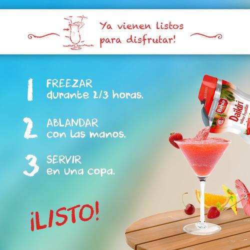 promo 2x1 bahia cocktails 48 tragos listos + envio gratis