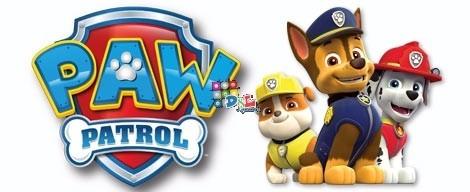 promo 3 figuras articuladas de goma paw patrol original nick