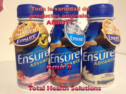 promo 4 ensure advance 850 g abbott nutrition $83900 unidad