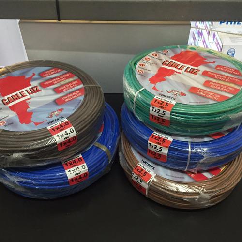 promo 500m de cable unipolar 2 rollos 2,5mm + 3 rollos 1.5mm