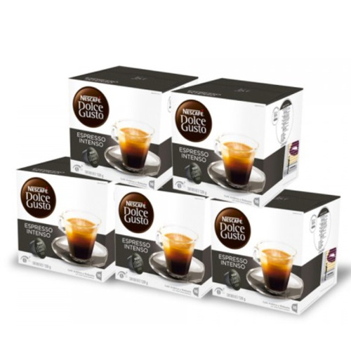 promo 80 capsulas cafetera nescafe dolce gusto espresso