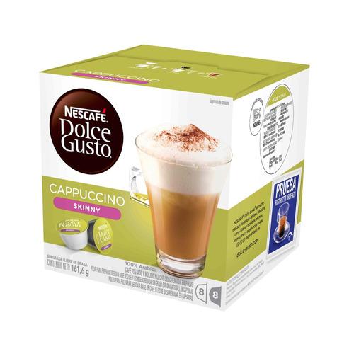 promo 80 capsulas cafetera nescafe dolce gusto skinny