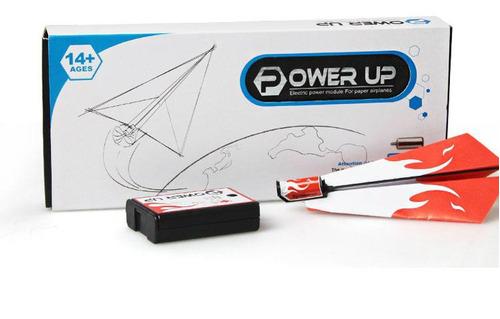 promo avión de papel power up c/ motor