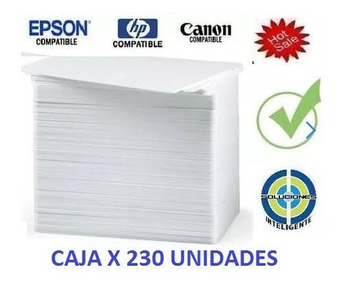 promo caja 230 carnet pvc epson t50 l800 canon gratis envio