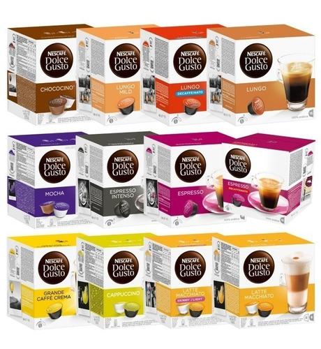 promo! caja x16 capsulas dolce gusto! compra 5 envio gratis!
