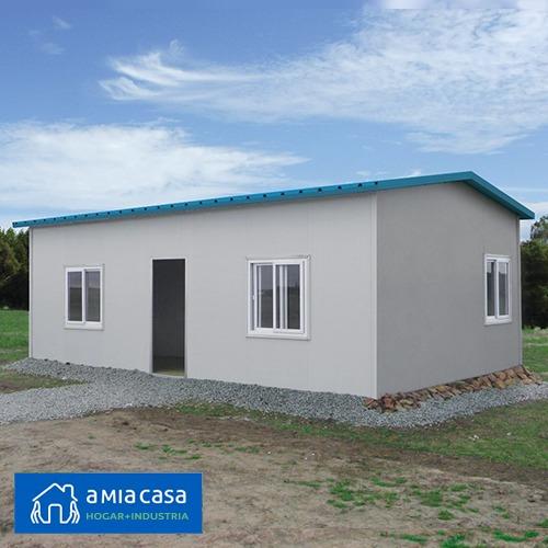 promo casa prefabricada llave en mano isopanel eps 30m2