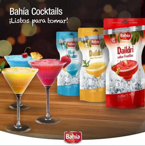 promo cocktails 25%off bahia 48 tragos listos