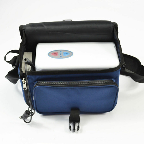 promo concentrador de oxígeno avic® portátil batería y 220v