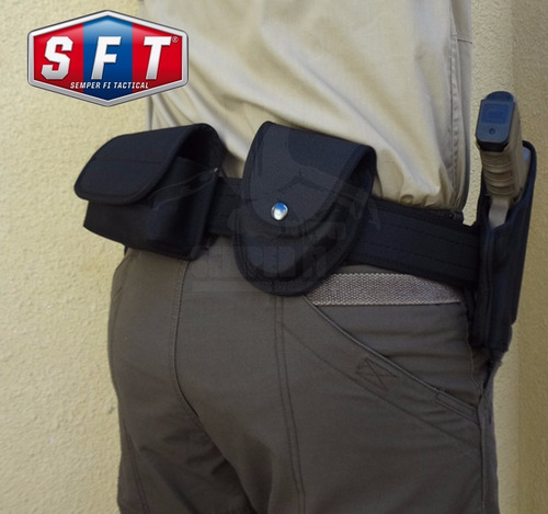 promo correaje policial negro de semper fi tactical®