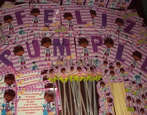 promo cotillon infantil  bolsitas doctora juguetes 20 chicos