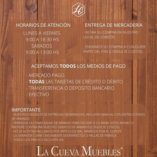 promo desayunador + bancos - cocina - comedor - living - lcm