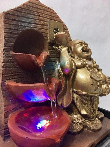 promo fuente buda + lampara de sal dia de la madre