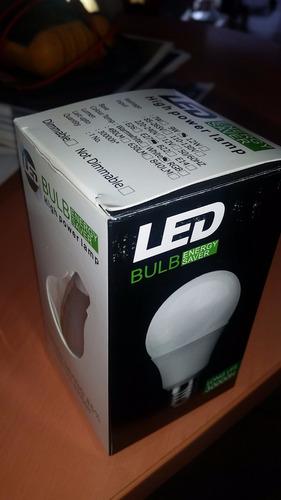 promo lamparas led a++ 7y9 w, e27 85% ahorro 2 años garantía
