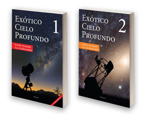 promo libros exótico cielo profundo 1 y 2 astronomía