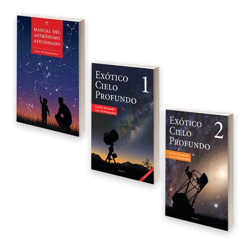 promo libros manual astro y exótico cielo profundo 1 y 2
