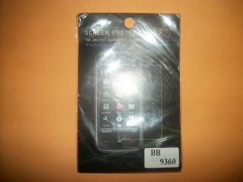 promo mica de pantalla blackberry 9370 curve!!!
