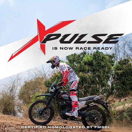 promo moto hero xpulse 200cc todo terreno 4 años de garantia