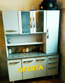 Promo Oferta Mueble De Cocina Alacena Cristalero Aparador