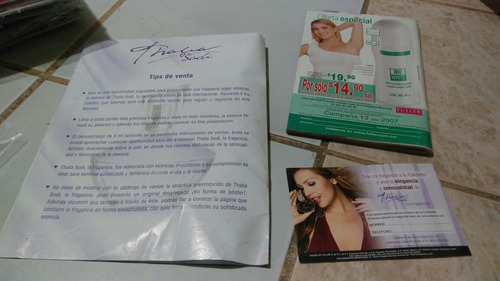 promo oficial thalia para fuller cosmetics