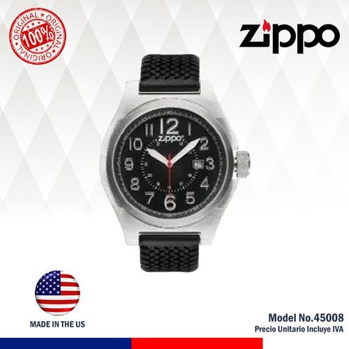 promo reloj original zippo 45008 incluye -30% descuento