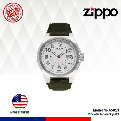 promo reloj zippo white original 45013 con 30% descuento