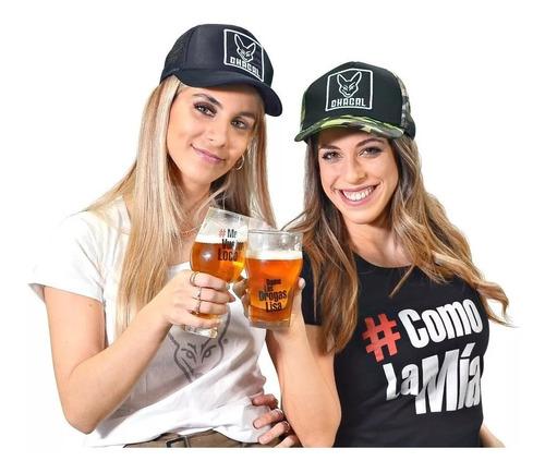 promo vaso cervecero: pinta stout hashtag 473 ml - pack x 6