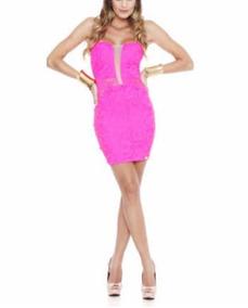 91a03e203cbc Vestido Neon Lycra Sexy - Vestidos Femeninos com o Melhores Preços no  Mercado Livre Brasil