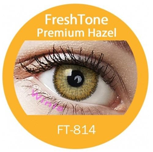 promo x1p lentes de contacto honey-hazel miel avellana