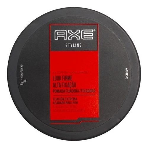promo x2 cera fijadora axe adrenaline styling look firme 75g