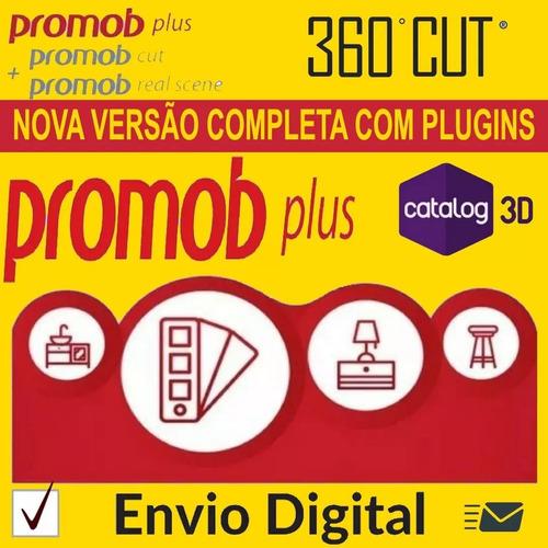 promob + planilha orça + projetos + curso + plano de corte