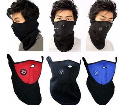 promoc 2x35  mascara cortaviento para bicicleta o motociclet