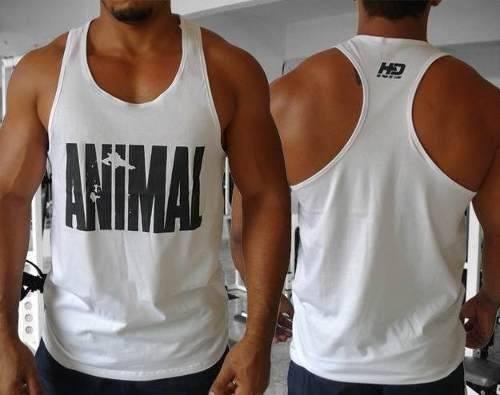 f3584ab031df0 Promocao 06 Regatas Animal Pak Nadador Academia Tank No Pain - R ...